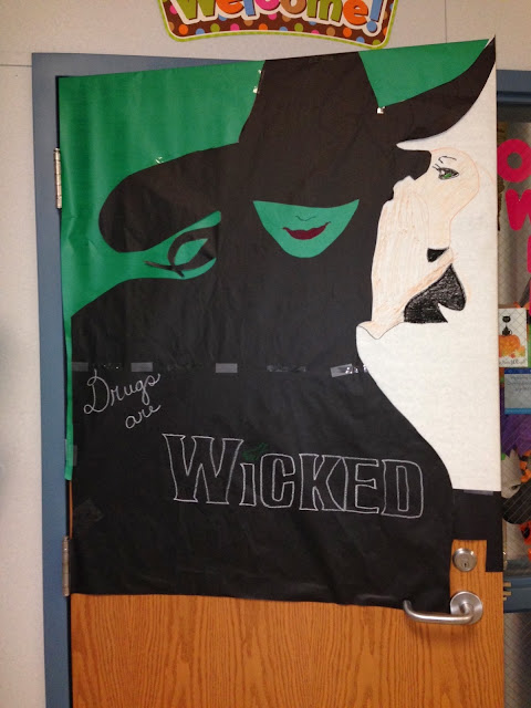 A Crafty Teacher: Drugs are Wicked
