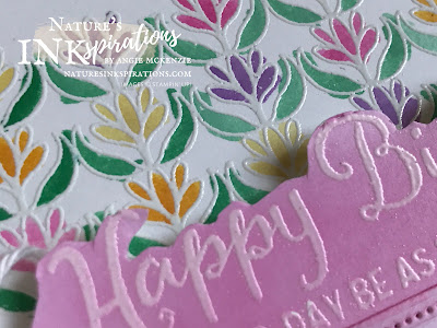 By Angie McKenzie for the Joy of Sets Blog Hop; Click READ or VISIT to go to my blog for details! Featuring the Parcels & Petals and Beautiful Day Stamp Sets; #handmadecards #naturesinkspirations #joyofsetsbloghop #birthdaycards #parcelsandpetalsstampset #beautifuldaystampset #aquapainterwatercoloring #jostttchallenges #inkblending #fussycutting #cardtechniques #stampinupinks #makingotherssmileonecreationatatime