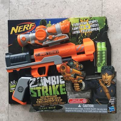 Súng Nerf Zombie ZED Squad