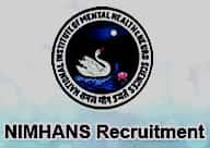 SRF, JRF Vacancy in NIMHANS, Bengaluru