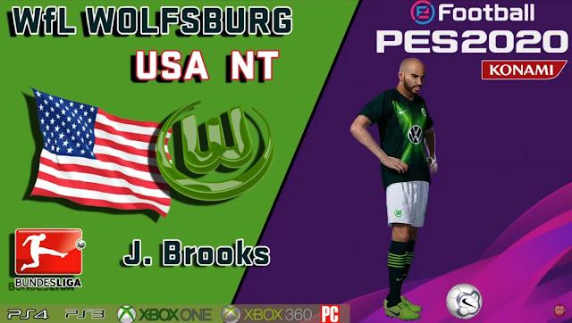 PES 2020 John Brooks Face by maquiavelo40