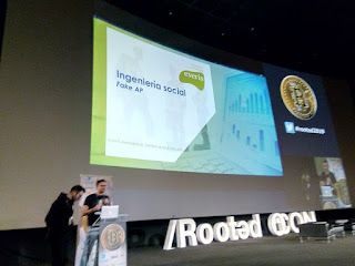 RootedCon 2019 - Everis - Fake AP: ingeniería social