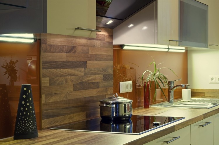 Cool Kitchen backsplash ideas Wooden back splash designs