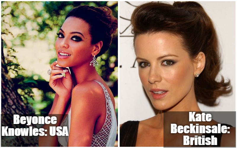 Beyonce Knowles Vs Kate Beckinsale