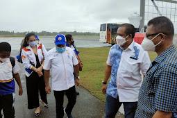 Ketua Harian PB PON Papua, Yunus Wonda Pastikan Kesiapan Venue dan Akomodasi di Merauke