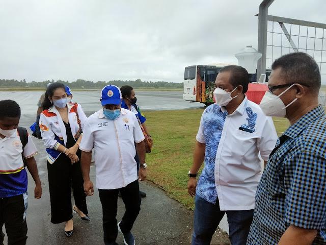 Ketua Harian PB PON Papua, Yunus Wonda Pastikan Kesiapan Venue dan Akomodasi di Merauke .lelemuku.com.jpg