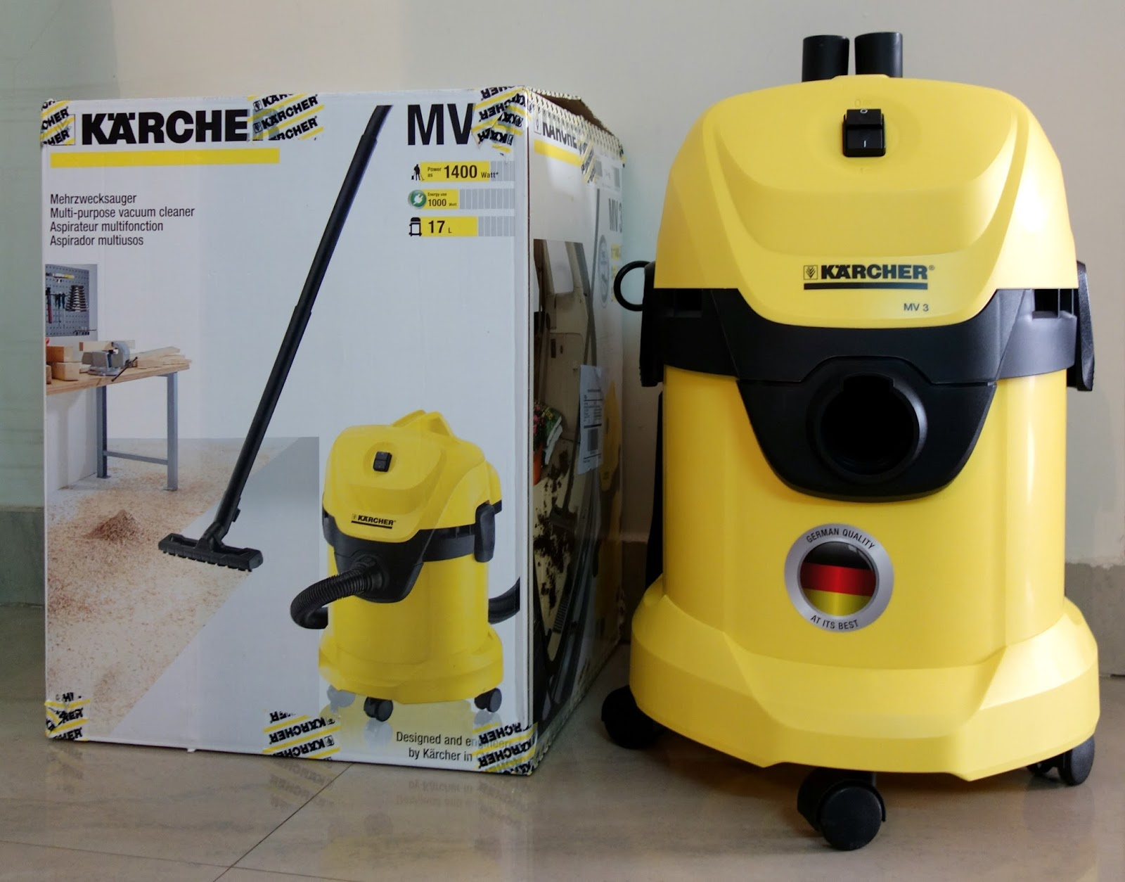 Karcher MV3 Vacuum Cleaner Review