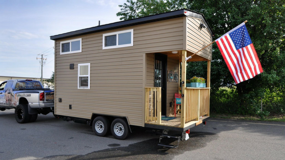 16 Harbor Model by Tiny House Building Company TINY HOUSE TOWN