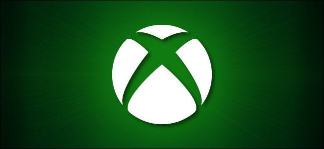 شعار Microsoft Xbox على خلفية خضراء