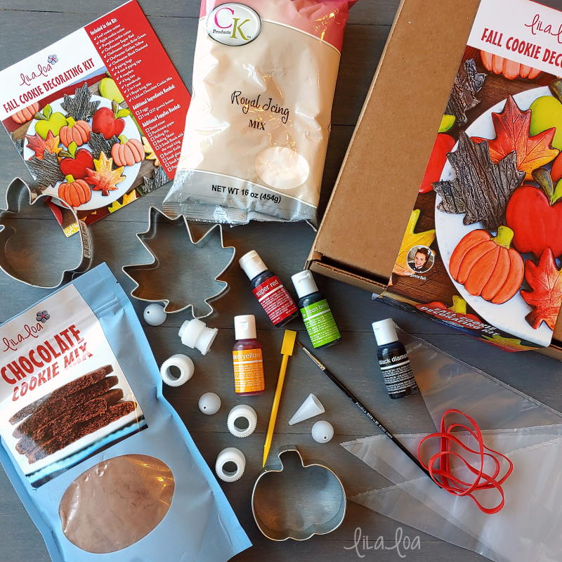 Fall cookie decorating kit - LilaLoa
