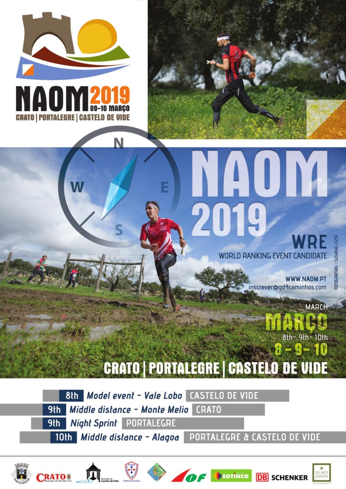 cartaz da NAOM 2019
