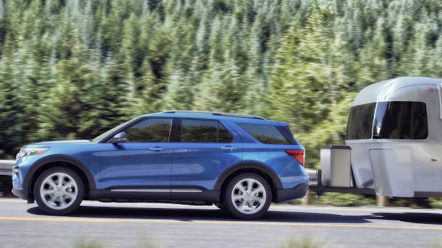 2020 Ford Explorer XLT 2.3 Ecoboost Towing Capacity