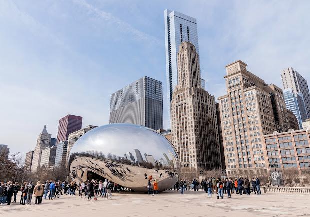 Bitstop Chicago Street Art & Sculptures