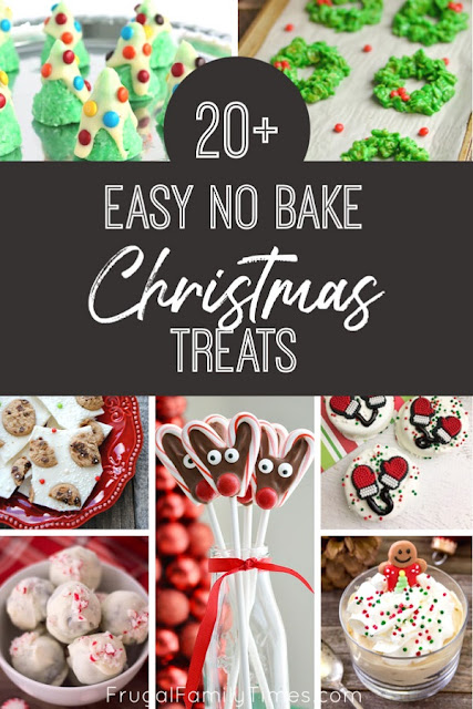 easy no bake Christmas treats