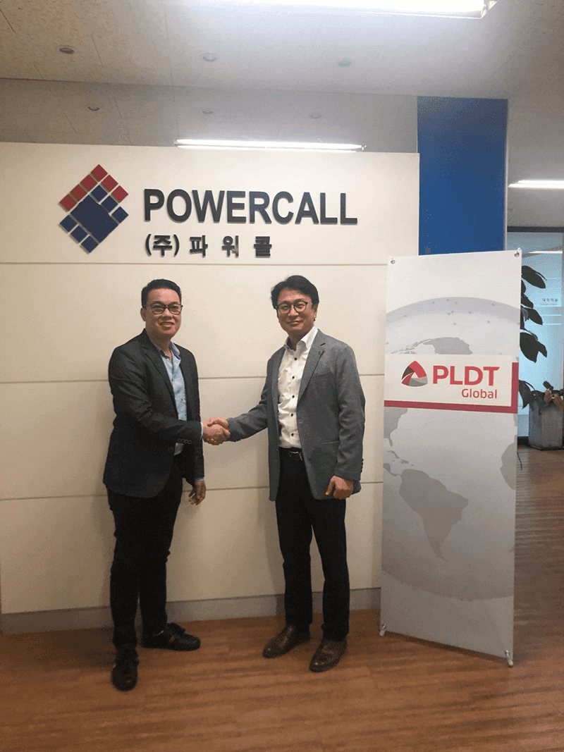 PLDT Global partners with South Korean e-commerce giant Powercall