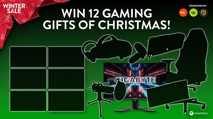 Sorteio de Natal - Concorra a um Kit Gamer Completo