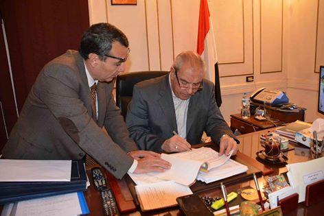 محافظ المنيا يعتمد نتيجة الشهادة الإعدادية بنسبة نجاح 71.46%