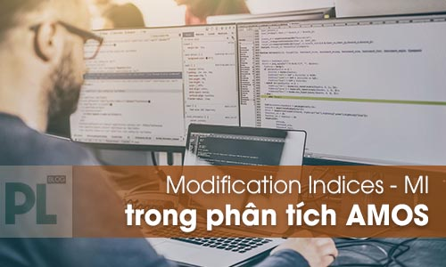 Chỉ số MI - Modification Indices trong AMOS