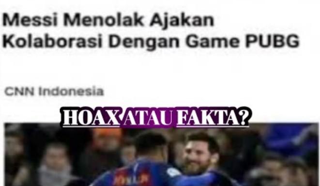 Messi Menolak PUBG