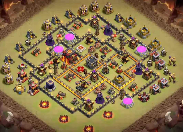 Base COC TH9 War 7