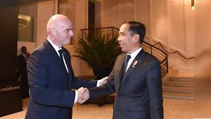 Pertemuan Presiden Jokowi dengan Presiden FIFA, bahas tuan rumah Piala Dunia U-20