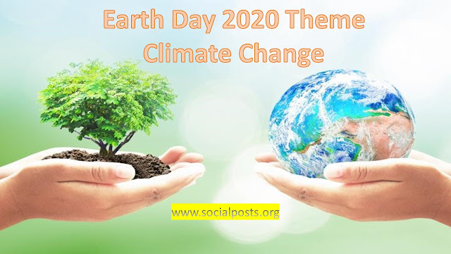 World Earth Day 2020 Theme