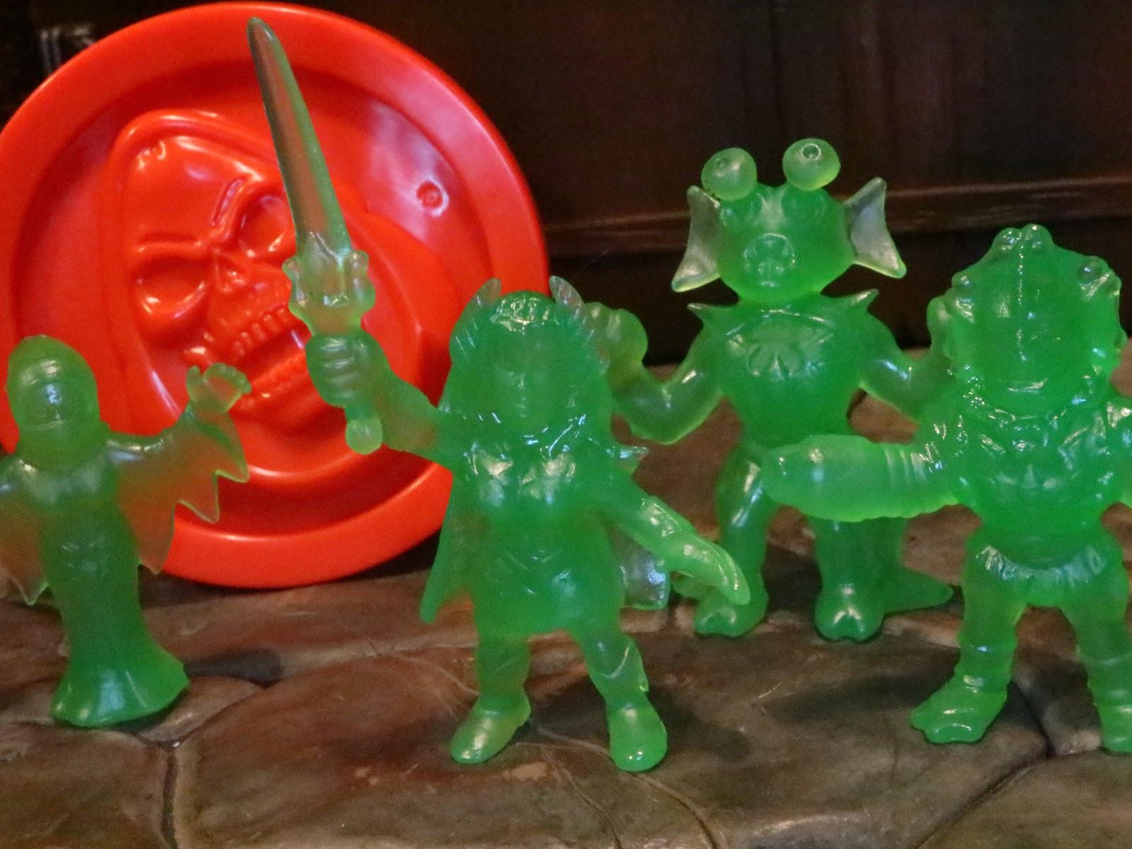 Green Slime Wave 2 Keshi Figures MOTU Masters of the Universe M.U.S.C.L.E