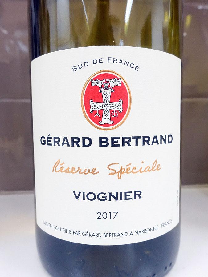 Gérard Bertrand Réserve Spéciale Viognier 2017 (88 pts)
