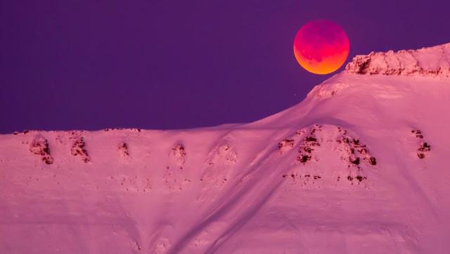 جزر النرويج أولى ضحايا تغير المناخ