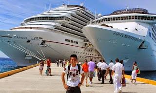 Kru kapal persiar, kerja sambil keliling dunia