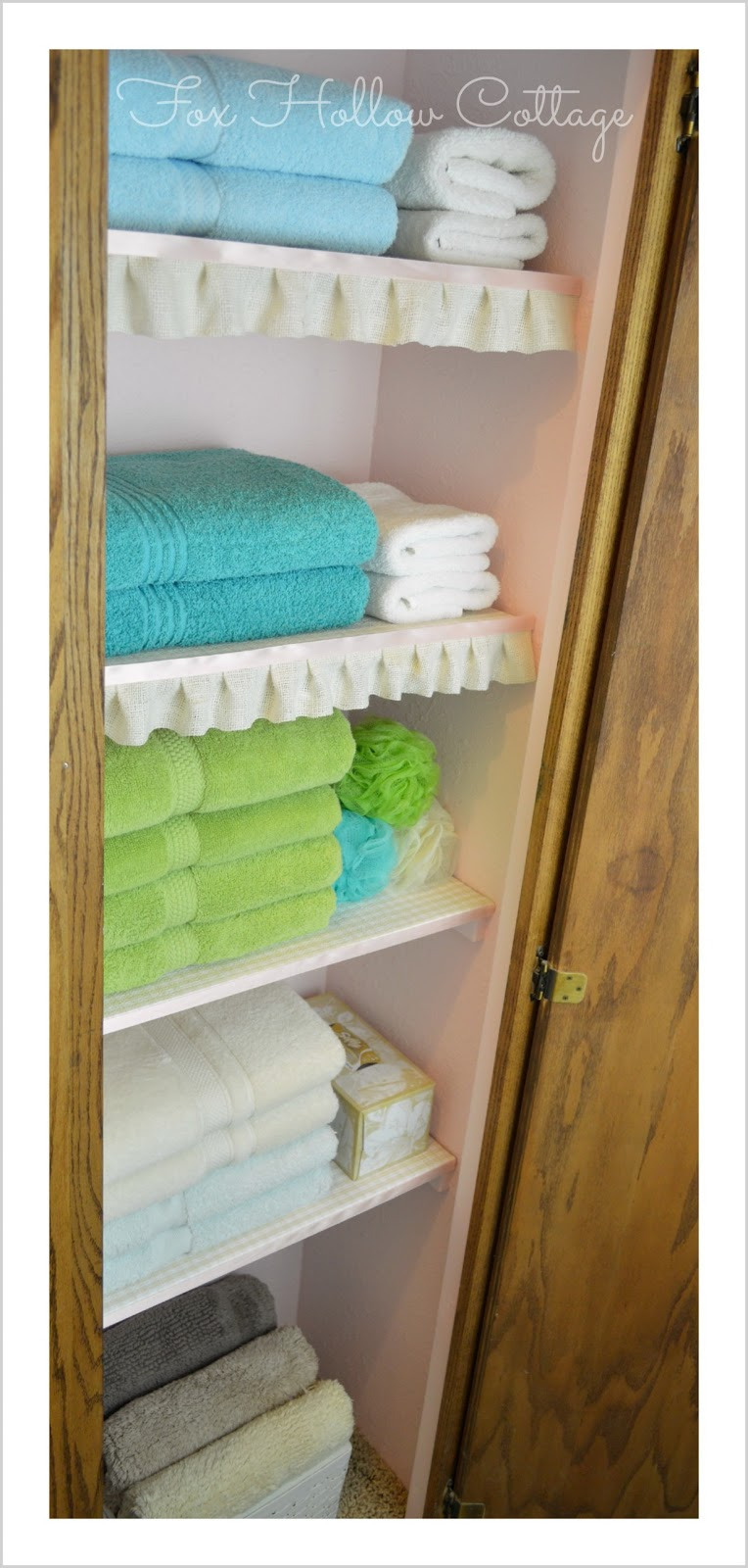 Project Linen Closet Reveal {pretty and organized!} - Fox ...