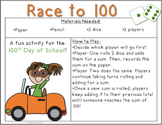 Free Race to 100 Game