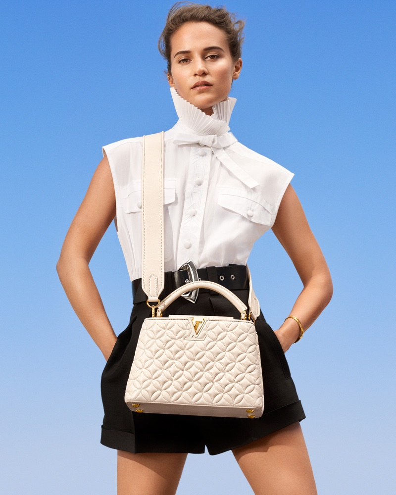 Louis Vuitton features Capucines bag in New Classics campaign