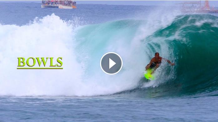 BOWLS Surfing the Ala Moana Bowl Surf Break in Honolulu Hawaii