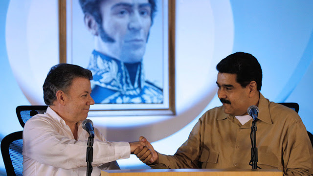 Nicolás Maduro insta a Juan Manuel Santos a colaborar por la paz y la seguridad fronteriza