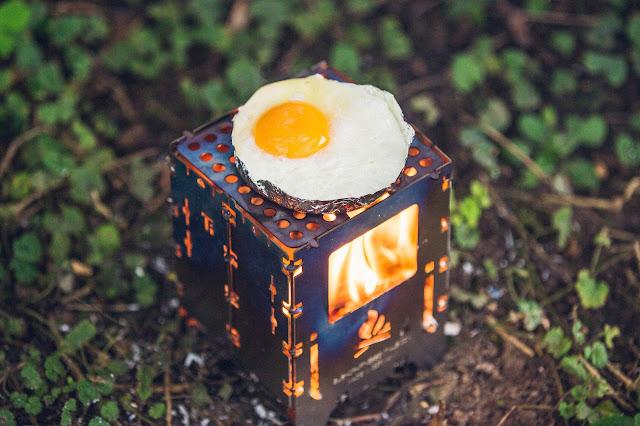 Outdoor Kitchen  Frühstück aus der Bushbox 02