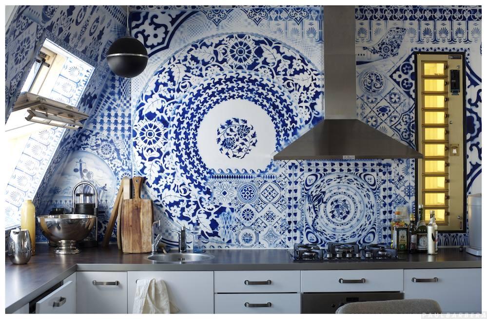 Mosaico bicolor en la cocina horror o amor ministry for Cocinas con mosaico