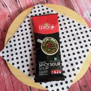 review izisoup spicy sour soup