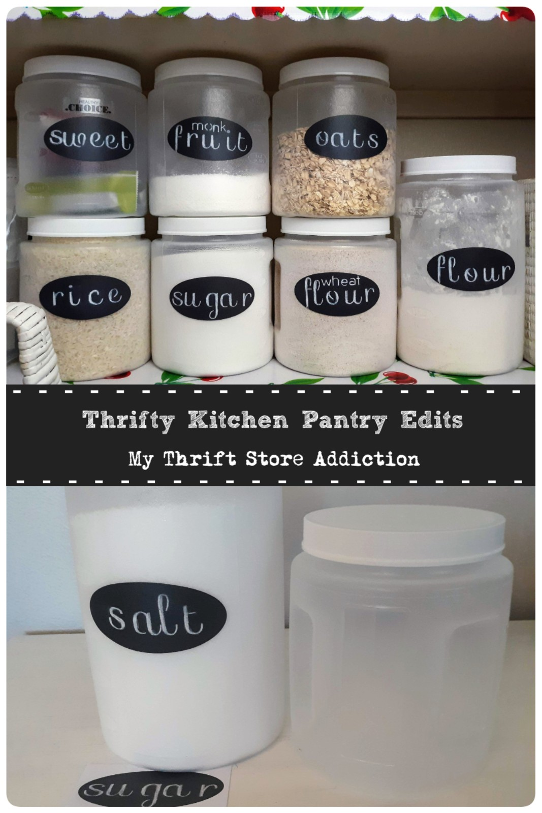 Thrifty home edits