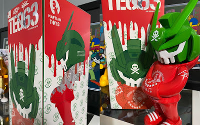 Sketracha Mega TEQ63 Vinyl Figure by Sket One x Quiccs x Martian Toys