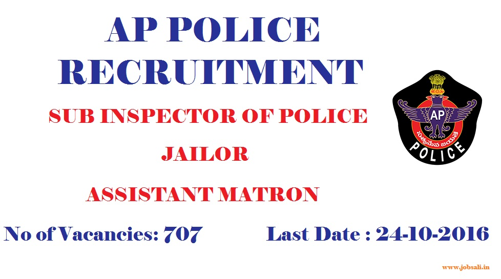 AP Police Jobs, Government jobs