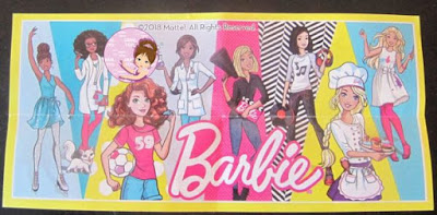 Collectible list of all Barbies from Kinder eggs