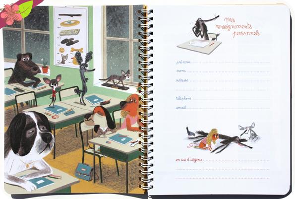 Chien Pourri ! le Cahier de Textes - l'école des loisirs