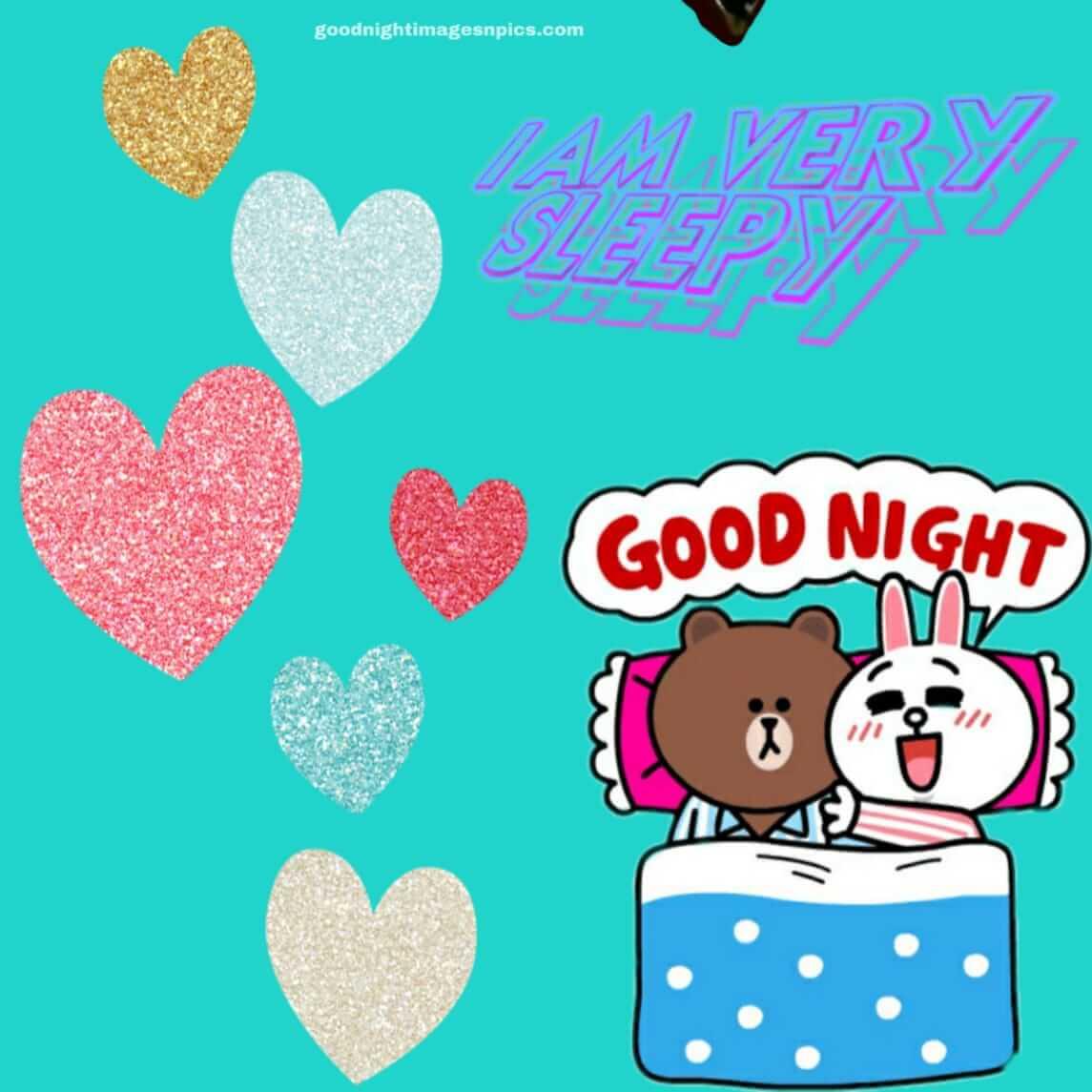 good night images love kiss