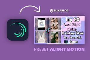 20 Preset Alight Motion Jedag Jedug Dj Remix Terbaru Viral Tiktok