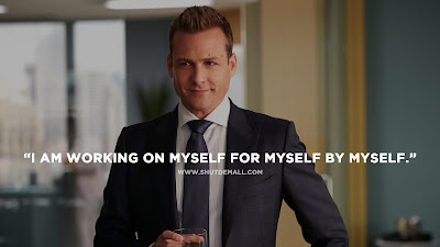 I am working on myself quote