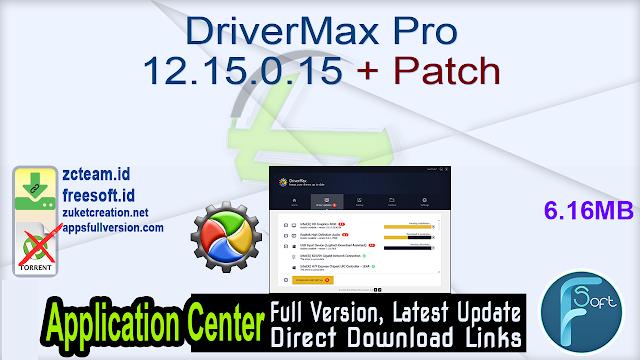 DriverMax Pro 12.15.0.15 + Patch_ ZcTeam.id
