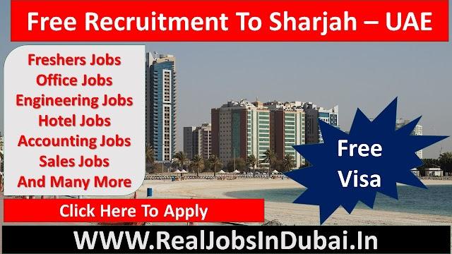 Jobs In Sharjah UAE 2021