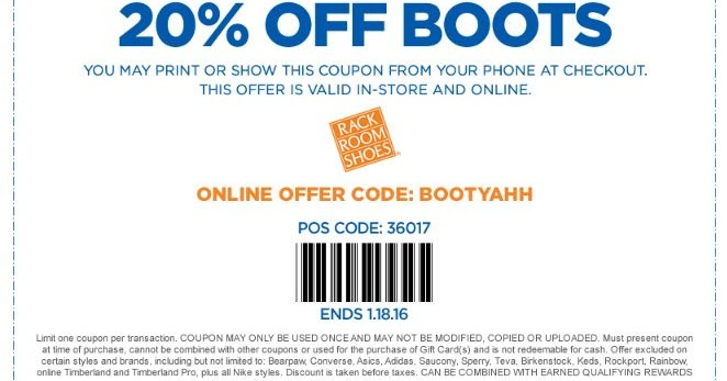 Rack room coupon code