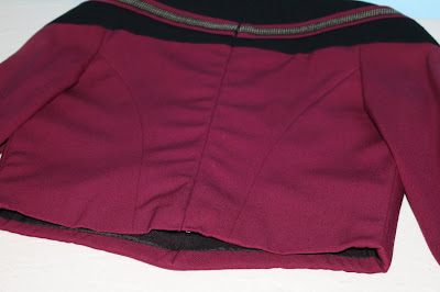 TNG season 2 admiral uniform - princess seams